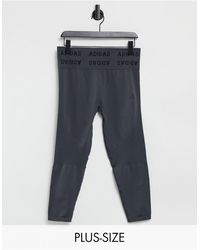 adidas Originals - Серые Бесшовные Леггинсы Adidas Training Aeroknit-серый - Lyst
