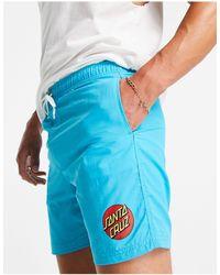 Santa Cruz Classic Dot Swim Shorts - Blue
