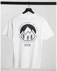 Columbia Cades Cove Outdoor Park T-shirt - White