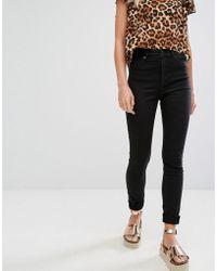 Monki - Oki Skinny High Waisted Jeans - Lyst