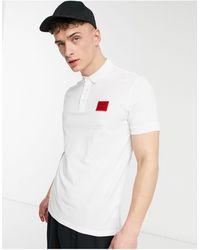 HUGO – Dereso212 – Polohemd - Weiß