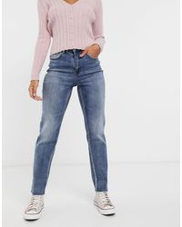 Pimkie Recycled Cotton Straight Fit Jean - Blue