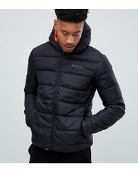 Sixth June - Puffer Jacket With Hood In Black Exclusive To Asos - Lyst