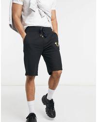 True Religion Shorts deportivos - Negro