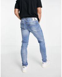 Calvin Klein Skinny Fit Jeans - Blue