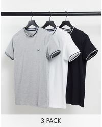 Threadbare 3 Pack T-shirts - Multicolour