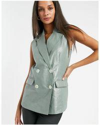 Vero Moda Sleeveless Blazer - Multicolour