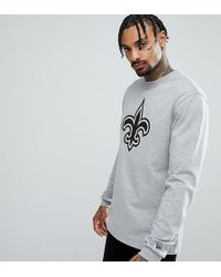 KTZ - New Orleans Saints Long Sleeve T-shirt Exclusive To Asos - Lyst