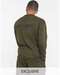 Sixth June Essential Sweatshirt - Green