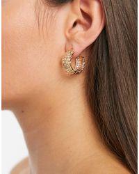 Accessorize Hoop Earrings - Metallic