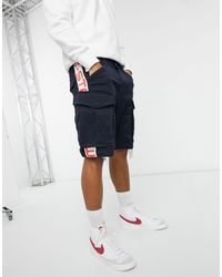G-Star RAW Pantalones cortos cargo Rovic Moto - Azul
