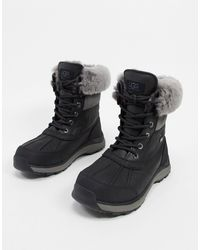 UGG Adirondack Iii Lace Up Boots - Black