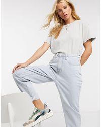 Pull&Bear Oversized Tshirt - White