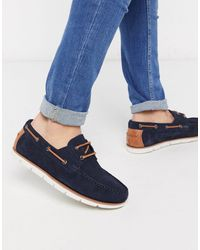 ASOS Boat Shoes - Blue