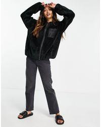 UGG Черная Куртка На Молнии Kadence-черный Цвет