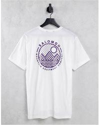 Salomon Explore Blend T-shirt - White