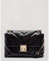 Miss Selfridge Bag With Chain Detail - Black