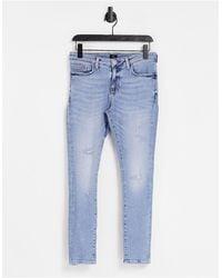 River Island Super Skinny Jeans - Blue