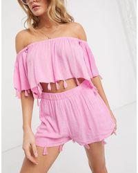 South Beach Pantalones cortos - Rosa