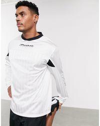 Reebok Training Long Sleeve T-shirt - White