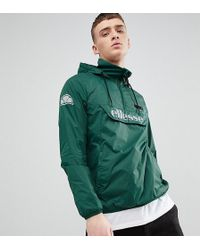 Ellesse - Overhead Jacket In Green - Lyst