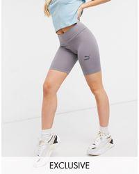 PUMA legging Shorts - Purple