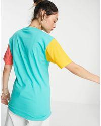 Vans Многоцветная Футболка С Короткими Рукавами Opposite-многоцветный - Синий