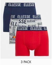 Ellesse – Herren-Unterhosen - Blau
