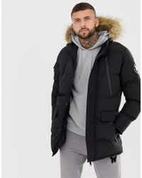 Good For Nothing - Parka nero - Lyst