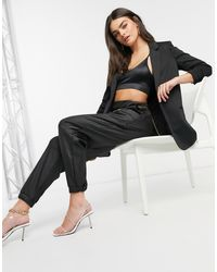 Vero Moda - Tailored Blazer With Ruched Sleeve - Lyst
