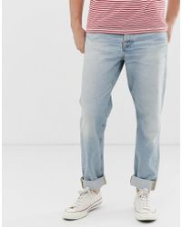 Nudie Jeans Co Steady Eddie Ii Regular Tapered Fit Jeans In Epic Wash - Blue