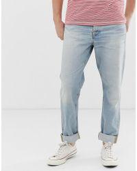 Nudie Jeans Steady Eddie II - Jeans regular affusolati lavaggio epic - Blu