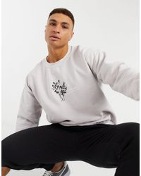 New Look Sweat With Floral Print - Multicolour