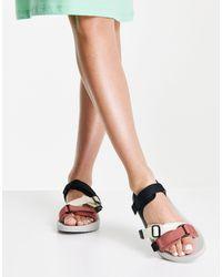 Vero Moda Sandales sport à brides - Multicolore - Rose