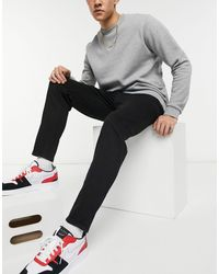 New Look Tapered Jeans - Black