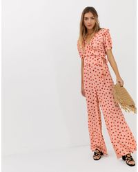 Lily and Lionel Lily & Lionel Exclusive Wide Leg Pants - Pink