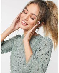 Oasis Blusa stile country - Verde
