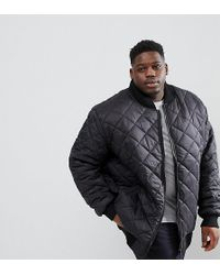 Loyalty & Faith - Loyalty And Faith Plus Quilted Zip Thru Bomber Jacket - Lyst