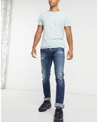 Replay Rocco - Jean slim confortable - Bleu
