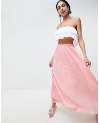 B.Young Maxi Skirt - Pink
