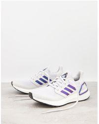 adidas Серые Кроссовки Running Ultraboost-черный Цвет - Серый