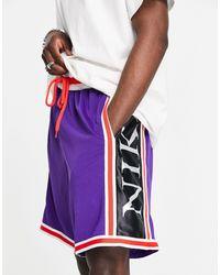 Nike Basketball Dna Logo Shorts - Purple