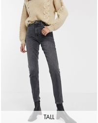 TOPSHOP Mom Jeans - Black