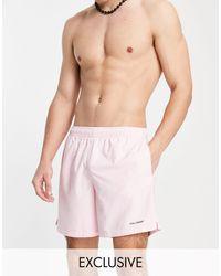 Collusion Swim Shorts - Pink