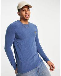 Lyle & Scott Sport Seacell Baselayer Long Sleeve Top - Blue