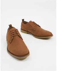 Burton - Светло-коричневые Замшевые Туфли-дерби -светло-коричневый - Lyst