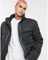 Kickers Puffer Jacket - Black
