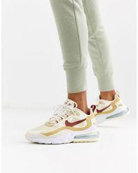 Nike Air Max 270 React - Beige Sneakers - Meerkleurig