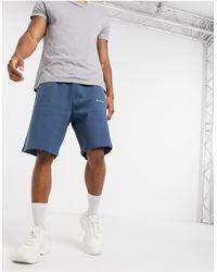 Nicce London Bocore Jog Shorts - Blue