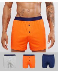 ASOS - Jersey Boxers 3 Pack Save - Lyst